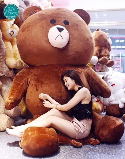 Gấu Brown khổng lồ tại gaubongonline.vn