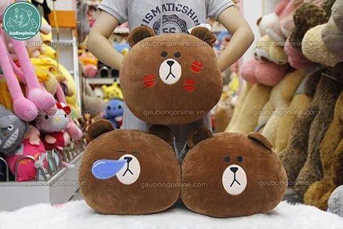 Gấu bông đút tay Brown nhiều biểu cảm