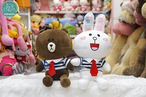 Gấu Brown- Thỏ Cony couple dễ thương
