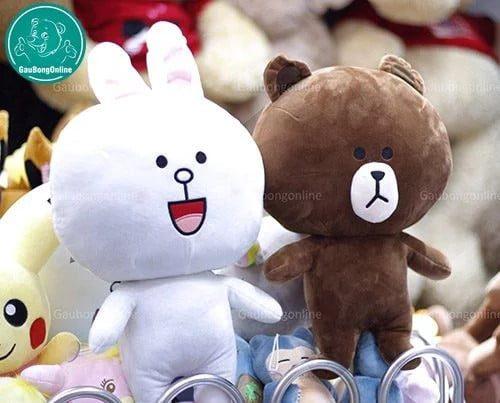 Gấu Brown- Thỏ Cony phiên bản gấu bông