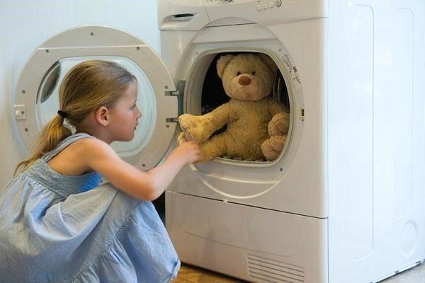 Giặt gấu bông đơn giản
