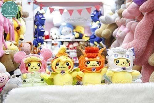 Pikachu Bông Cosplay trông thật đáng yêu