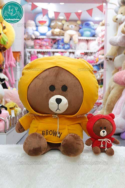 Brown Áo Nỉ Đại