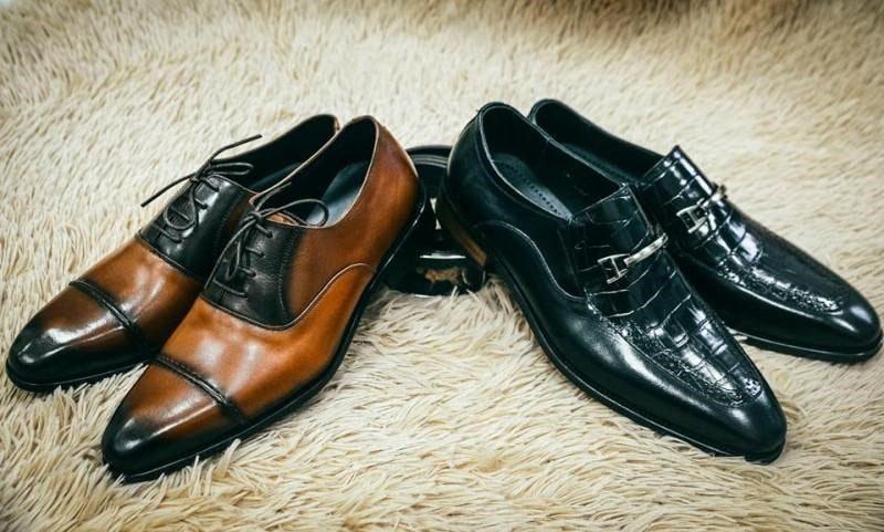 Giày da cho chồng