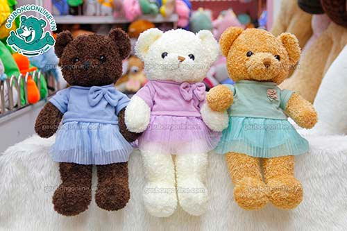 Gấu Bông Teddy Head Tales Váy