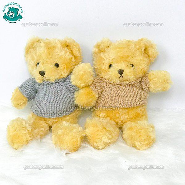 Gấu Bông Teddy Head & Talet Xù Nhỏ