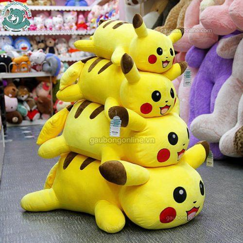 Pikachu Bông Nằm Mềm