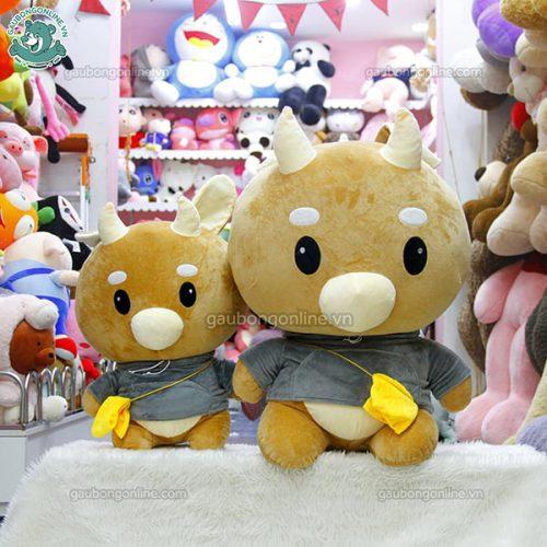 Gấu Bông Bò Chăm Chỉ