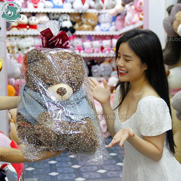 Gấu Teddy khăn