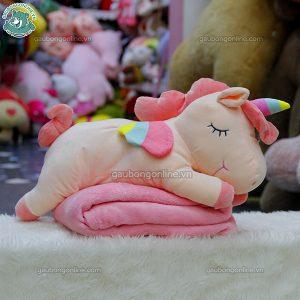 Gối Chăn Ngựa Unicorn Bông
