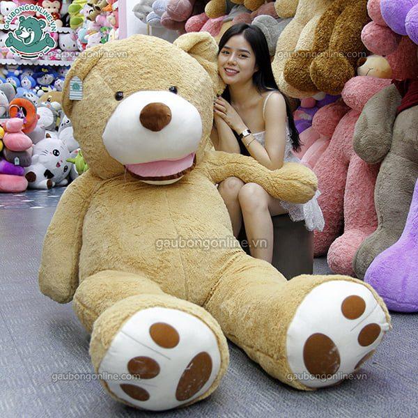 Gấu Bông Teddy - Ted Bự 2m