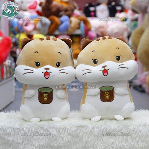 Chuột Bông Thêu Túi