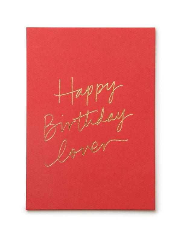Lời chúc sinh nhật cho người yêu