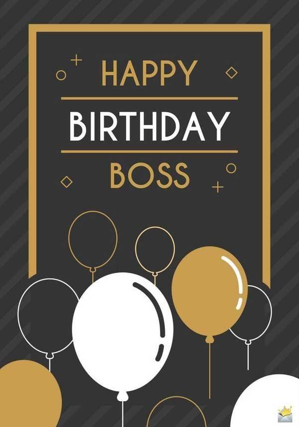 Lời chúc sinh nhật ý nghĩa cho sếp