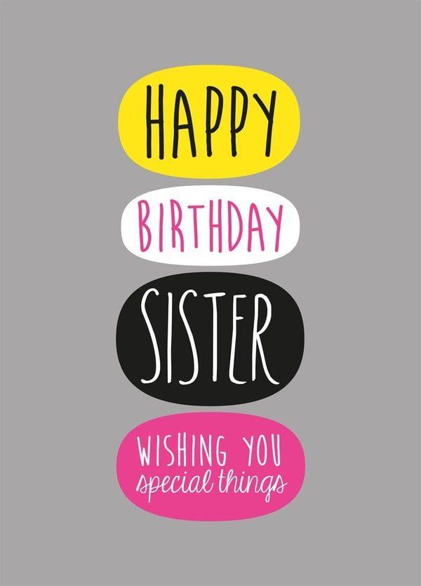 Lời chúc sinh nhật ấm áp cho chị gái