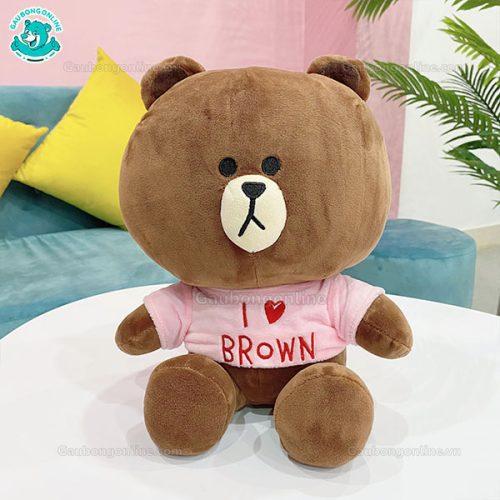Brown Cony Áo Love