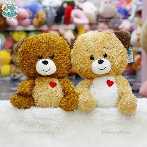 Gấu Bông Xù Tim