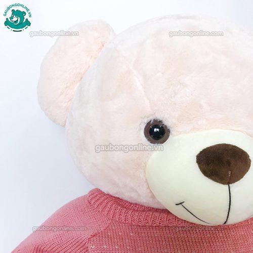 Gấu Bông Teddy Lông Xoắn Áo Love