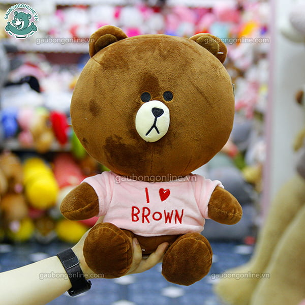 Brown Cony Áo Love