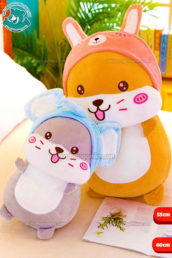 Chuột Hamster Bông Cosplay