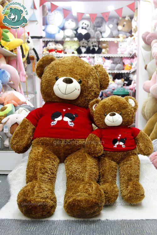 Gấu Bông Teddy Len Kiss 1m6