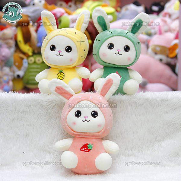 Thỏ Bông Ngồi Quả