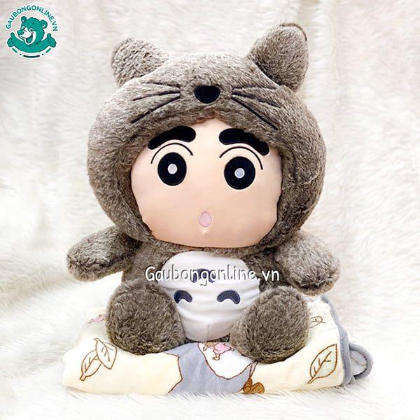 Gối Chăn Bông Shin Totoro