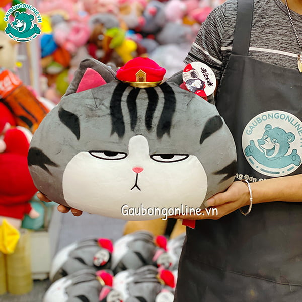 Gối Mèo Hoàng Thượng Bông