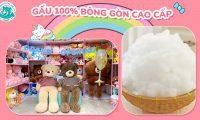 Gấu nhồi 100% bông gòn cao cấp ở shop Gấu Bông Online.