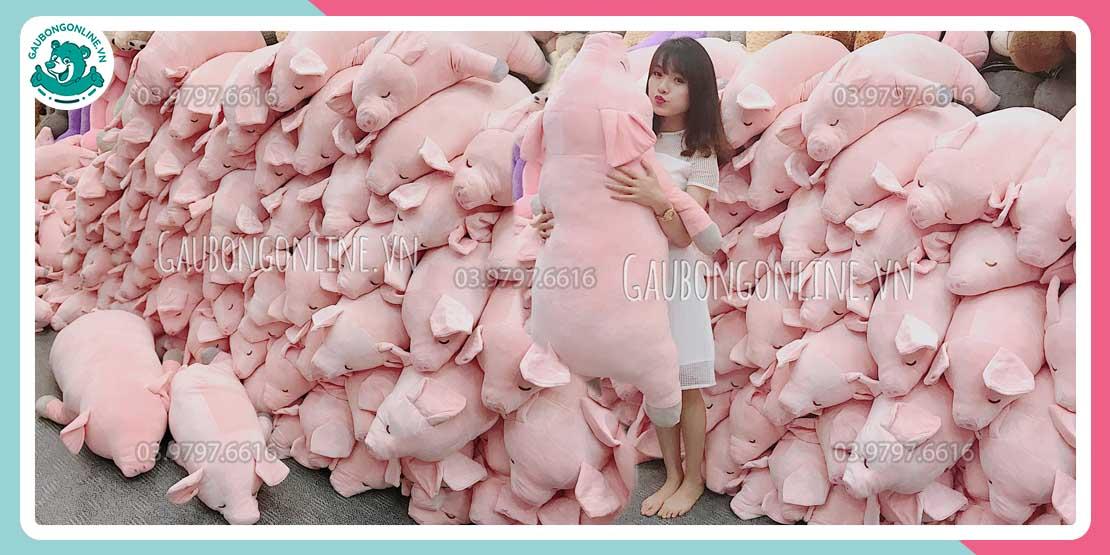 Kho Lợn Hồng lên đến cả 1000 con