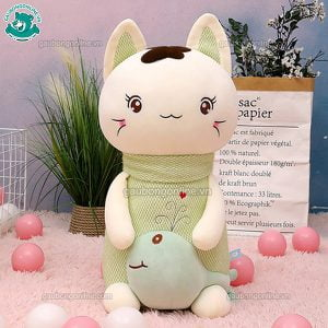 Mèo Bông Khăn Len