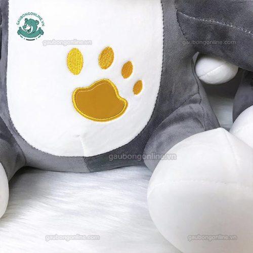 Chó Bull Bông Thêu Chân
