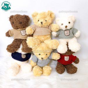 Gấu Bông Teddy Head Tales Xù Nhỏ