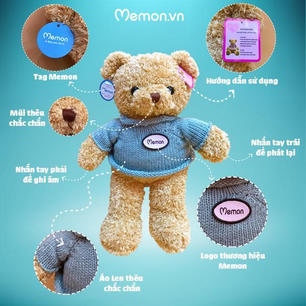 Gấu Bông Teddy Ghi Âm