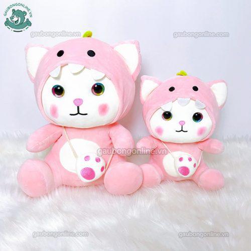 Mèo Bông Đeo Túi Cosplay