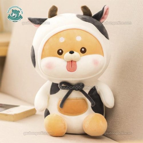 Chó Bông Shiba Lè Lưỡi