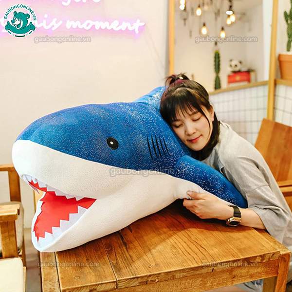 Cá Mập Nhũ Bông Big Size