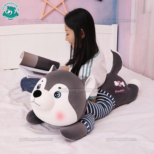 Chó Husky Áo Kẻ Bông(Big Size)