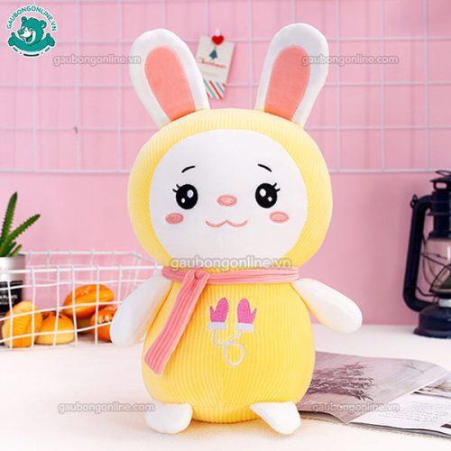 Thỏ Bông Nhung Khăn Len