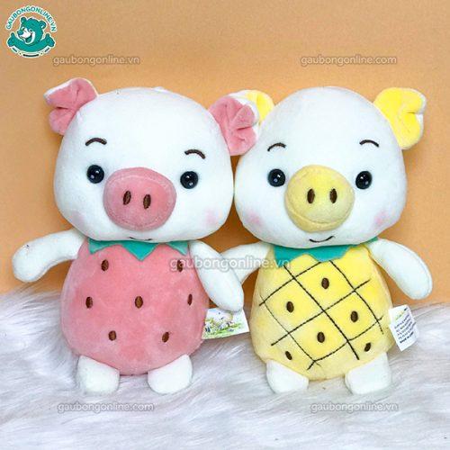 Gấu Nhỏ Lợn Hoa Quả Bông
