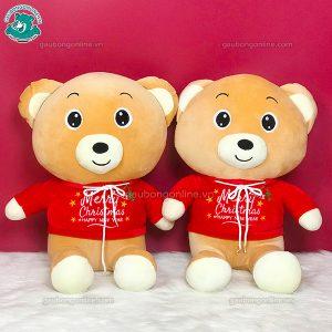 Gấu Bông Áo Noel