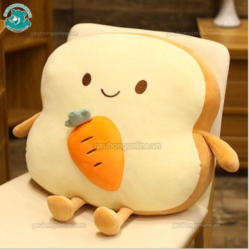 Gối Chăn Mền Bánh Mì Bông