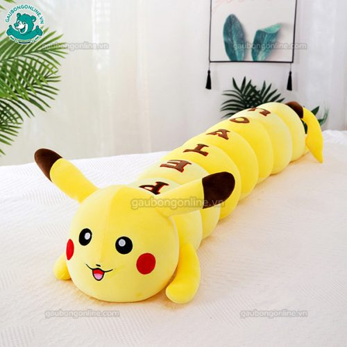 Gối Dài Pikachu Chữ