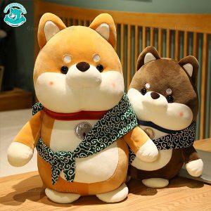 Chó Bông Nhật Đeo Túi