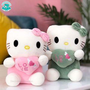 Gấu Nhỏ Kitty Ôm Tim