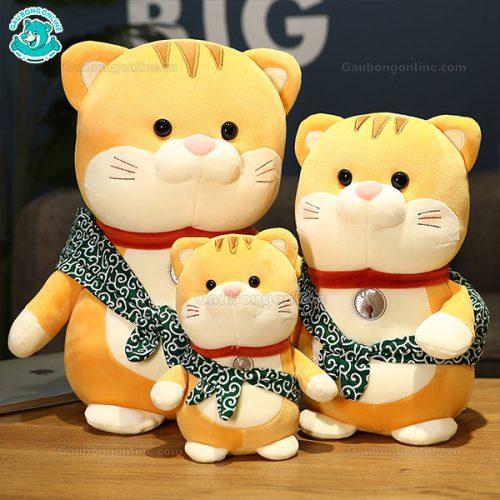 Mèo Bông Nhật Đeo Túi