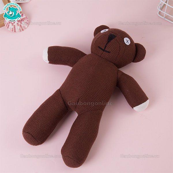 Gấu Bông Teddy Mr Bean Len
