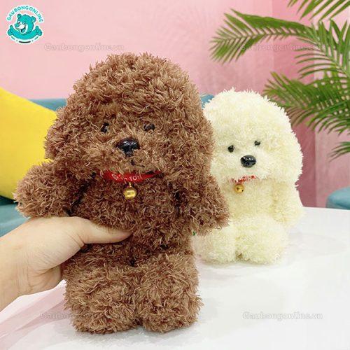 Gấu Nhỏ Chó Bông Lông Xù Đứng