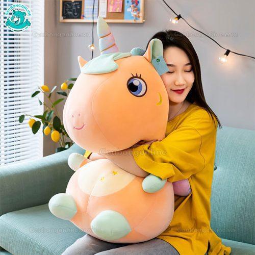 Unicorn Bông Thêu Sao Ngồi (Big Size)